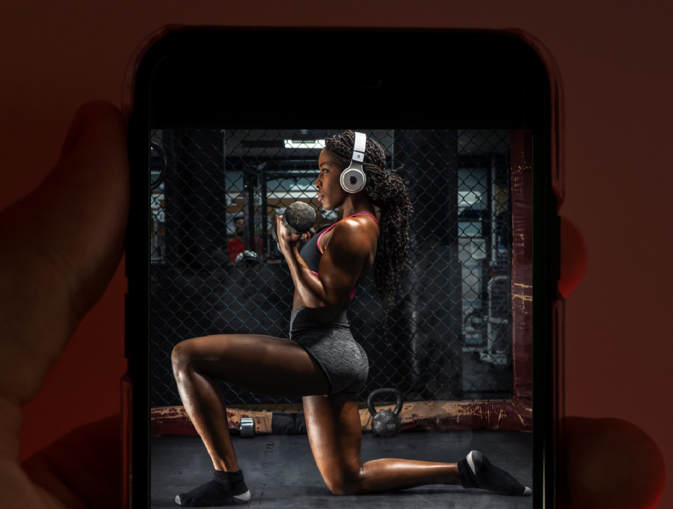 rocheal home fitness app mobile